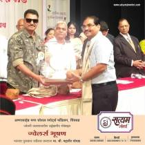 "Satyam Jewellers felicitated with ""Jewellers Bhushan"" 